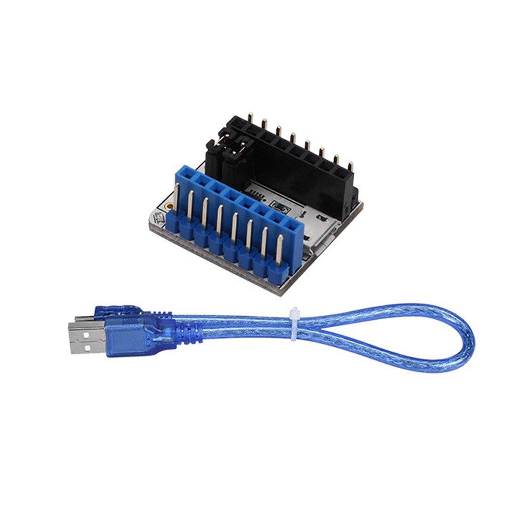 Pergrate TMC2208 Probador Módulo Mando Tablero USB a Serial ...
