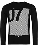 Mens DC Genetical Long Sleeve T Shirt