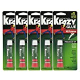 Best Super Glues - Lot Of 5 Elmers Krazy Glue Original Crazy Review