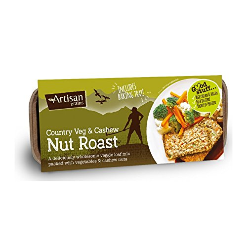 Artisan Grains Country Vegetable Nut Roast 200 g (Pack of 6)