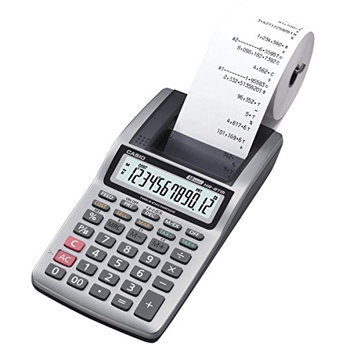 small adding machine with tape - 1
