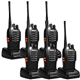 Retevis H-777 Two Way Radio Single Band UHF Rechargeable Walkie Talkies(6 Pack)