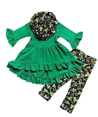 Angeline-Boutique-Clothing-Girls-ST-Patricks-Day-Luck-Of-Irish-Tunic-Leggings-Scarf-Set