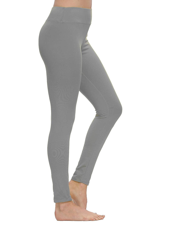 Artfish Womens Stretch Fleece Lined Warm Thermal Underwear Bottoms Leggings