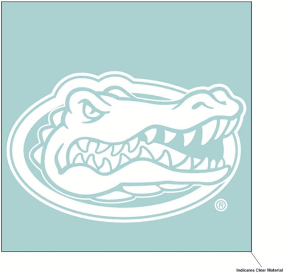 Wincraft NCAA University of Florida Gators 6 x 6 inch White Decal