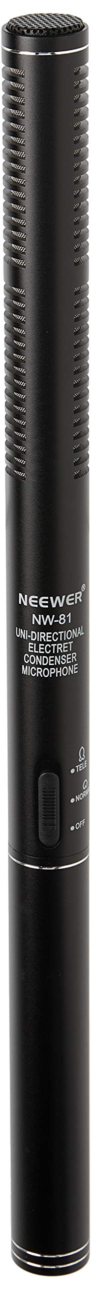 Neewer Micrófono condensador PRO para videocámaras