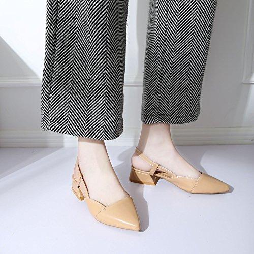 sandali tacco sharp scarpe seven e in Donyyyy a estate Ruvida Thirty Haqp11w4