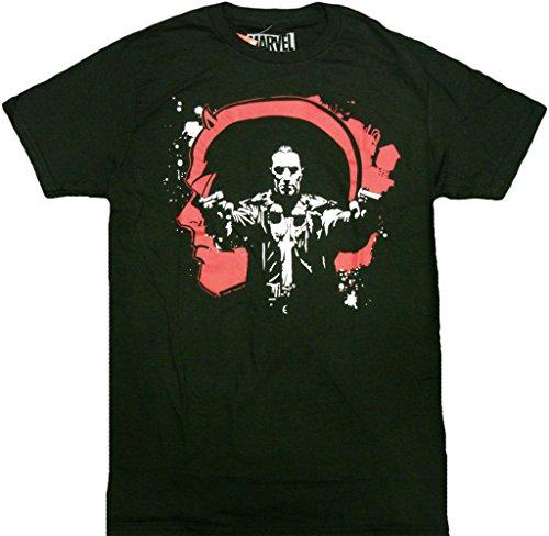 [Marvel Daredevil Punisher T-Shirt] (Daredevil Costumes Marvel)