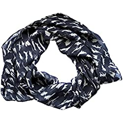Meowingtons Clowder Cat Scarf (Black)