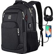 marcello Laptop Rucksäcke mit USB-Ladeanschluss Herren Damen für Arbeit Schule Uni Schulrucksack für Jungen Teenager mit…