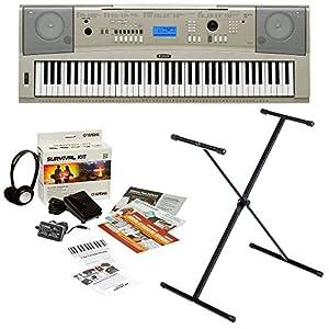Yamaha ypg 235 76 key portable grand piano for Yamaha extended warranty