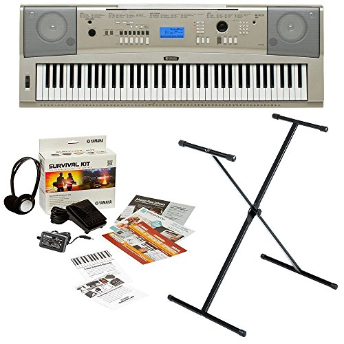 yamaha-ypg-235-76-key-portable-grand-piano-with-x-style-keyboard-stand-and-survival-kit-includes-pow