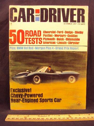 Pontiac Grand Prix Driver (1967 67 December CAR AND DRIVER Magazine (Features: Road Test on BMW Aplina & Morgan Plus 4, Chevrolet, Ford, Dodge, Shelby, Pontiac, Mercury, Buick Oldsmobile, American, Lincoln, Chrysler, + U.S. Grand Prix Race))
