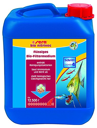 sera bio nitrivec 5, 000 ml, 1.3 US gallon Aquarium Treatments by Sera