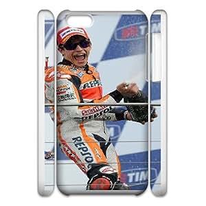 iphone6 4.7 3D Cell Phone Case White Marc Marquez Plastic Durable Cover Cases derf6003870