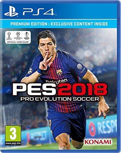 Pro Evolution Soccer 2018 Premium Edition (PS4): Amazon.es: Juguetes y juegos