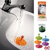 : One Help Me Reaching Drowning Hand Vortex Drain Stopper - Assorted Colors
