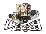 water pump honda crv - Evergreen TBK184VC Timing Belt Kit, Valve Cover Gasket, and GMB Water Pump: 96-01 Honda Acura B18B1 B20B4 B20Z2