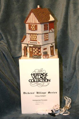 Department 56 Dicken's Village Series Poulterer - City Shopping Johnson