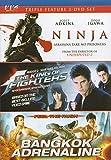 Ninja / The king of fighters / Bangkok Adrenaline (Triple Feature)
