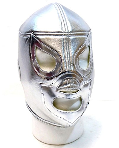 HIJO DEL SANTO Adult Lucha Libre Wrestling Mask (pro-fit) Costume Wear by Mask Maniac