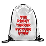 Bekey The Rocky Horror Picture Gym Drawstring Backpack Bags For Men & Women For Home Travel Storage Use Gym Traveling Shopping Sport Yoga Running
