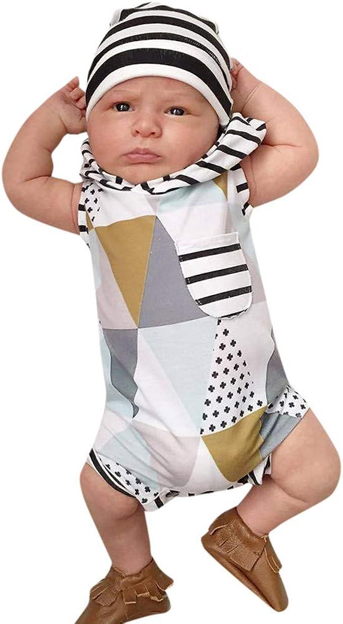 Divertido Pijama con Capucha, K-Youth Mono para Bebés Niño Pelele ...
