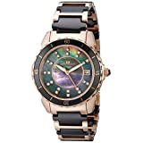 Oceanaut Women's OC2412 Charm Analog Display Swiss Quartz Two Tone Watch