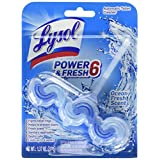 Lysol Power & Fresh 6 Automatic Toilet Bowl Cleaner, Ocean fresh , 1.37 Ounce