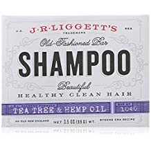 J.R. Liggett Bar Shampoo, Tea Tree Oil Formula