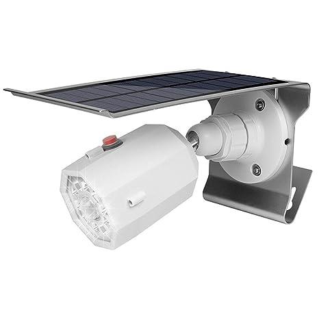 Proyector con Sensor de Cuerpo Solar, Luz de cámara de simulación ...