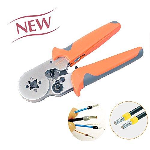 iwiss crimper plier hsc8 6 4 self adjustable crimping tools used for awg23 10 cable. Black Bedroom Furniture Sets. Home Design Ideas