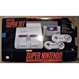Super Nintendo (SNES) System with Super Mario World