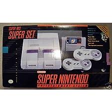 Super Nintendo (SNES) System with Super Mario World
