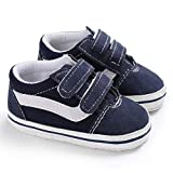 Meckior Baby Girls Boys Canvas Sneakers Soft Sole