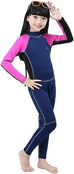 Cokar 2mm Neoprene Wetsuit for Kids Boys Girls One Piece Swimsuit