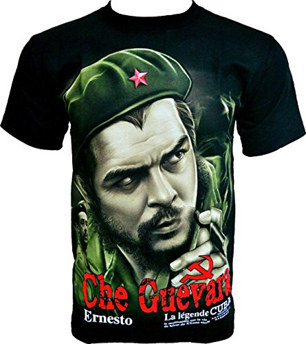 Rock Chang T-Shirt Che Guevara La Legende Cuba Schwarz R601 (3XL)