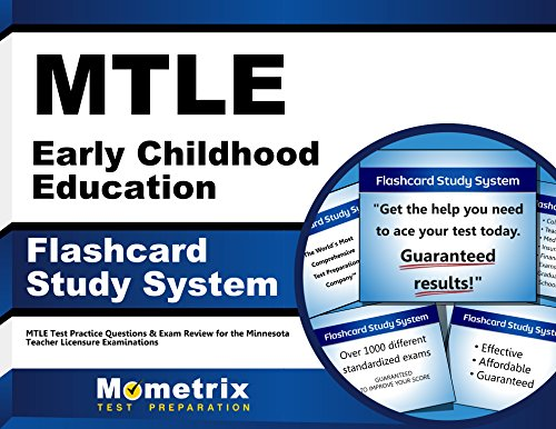 MTLE Early Childhood Education Flashcard Study System: MTLE Test Practice Questions & Exam Review for the Minnesota Teacher Licensure Examinations (Cards)