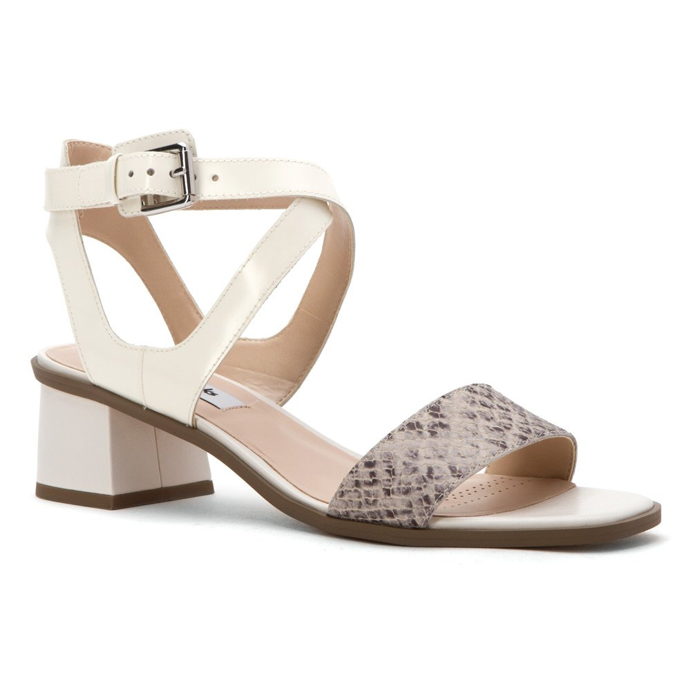 7510460fa21e Clarks Women s Ivangelie Ray Natural Snake Combi Leather 6 M  Amazon.co.uk   Shoes   Bags