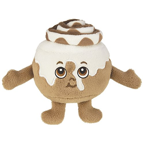 "Whiffer Sniffers Howie Rolls Super Sniffer, Large Food Shaped Plush Scented Cinnamon Roll, 11"" - Roll Stuffed Toy"