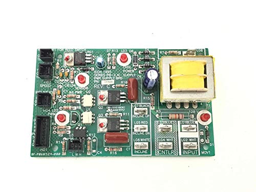 (Power Supply Board 157626 Works with Proform Weslo HealthRider LifeStyler Image Treadmill)