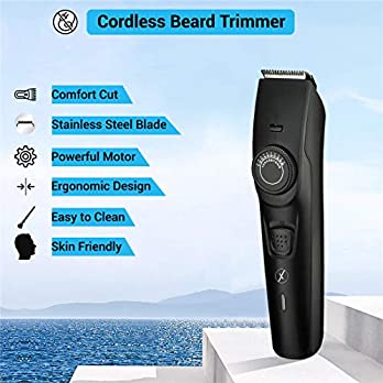 Xmate Quik Cordless Trimmer, 120 min Runtime, 38 Length Settings, Fast Charging, Lightweight, Rechargeable Beard Trimmer…