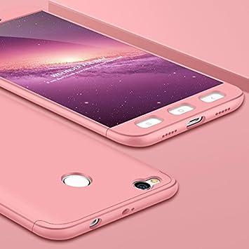 JMGoodstore Funda Compatible Xiaomi Redmi 5A,Carcasa Redmi 5A,360 Grados Integral Ambas Caras+Cristal Templado,[ 360°] 3 in 1 Slim Dactilares ...