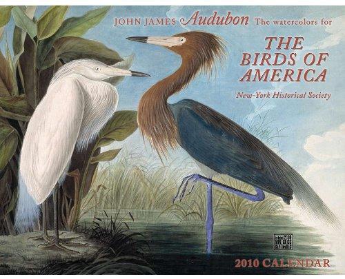 John James Audubon the Watercolors for the Birds of America 2010 Calendar: New-york Historical Society ()