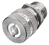 Hubbell SHC1032 Kellems Wire Management Cord Connectors, Straight Male, Aluminum, 3/4'' Hub, 0.25-0.38'' Diameter