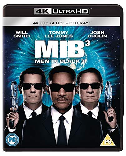 Men In Black 3 [4K Ultra HD] [Blu-ray] [2019]