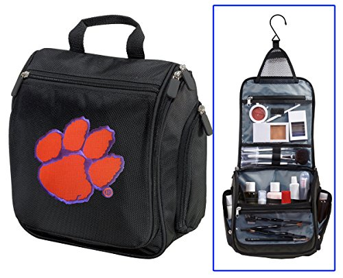 Clemson University Toiletry Bags Or Hanging Clemson Tigers Shaving Kits - University Tigers Pocket