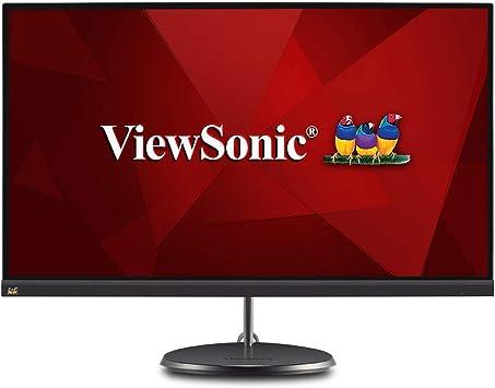 ViewSonic Monitor IPS sin marco con USB 3.2 Tipo C y FreeSync para el hogar y la oficina: Amazon.es: Electrónica