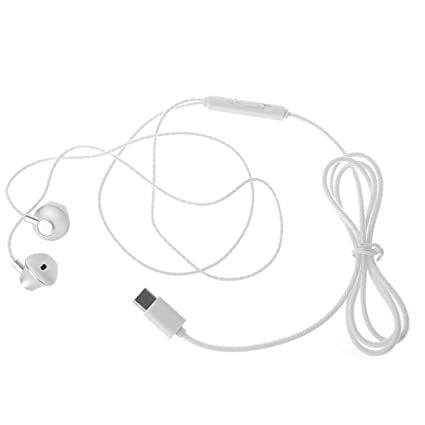 Amazon Com Ladaidra Type C Earphones In Ear Line Wired Control