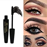Me Facial Hair Removal Kit - Inverlee New Eyelash Mascara Long Black Lash Extension Waterproof Eye Makeup Tool - Best for Thickening & Lengthening (Black)